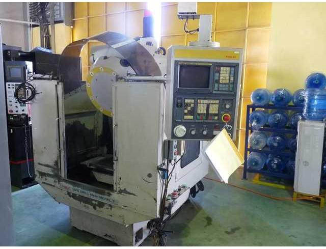 เจาะต๊าปซีเอ็นซี Model: MATE-Model T Year: 1989 Control system: Fanuc OM