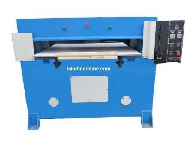 รับจ้าง ผลิต epe foam หนัง กล่อง ลูกฟูก ตามแบบ  ด้วยเครื่อง ไฮดรอลิก 4 column cutting machine