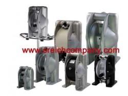 ปั๊มอลูมิเนียม AODD diaphragm pump TAPFLO ดูดหมึก ดูดสี อุตสาหกรรมสี โรงงานฟอกสี