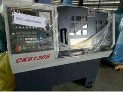 เครื่อง Matrix CNC Lathe flatbed control fanuc oi-tf 6 tools