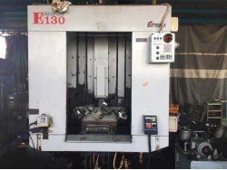 """Enshu"" Cnc Tap/Drill Model : E130 Controller : Fanuc 21iM 2 Pallet Changer Table Size : 600mm x 350mm Stroke : X400mm Y300mm Z300mm BT-30    (โทร) 0827867706 (line) yoye529"