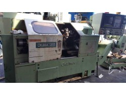 """Okuma"" Cnc lathe  Model  LB-15 Year 1985 Control  OSP 5000L-G With Tail Stock And Chip Conveyor (โทร) 0827867706  (line) yoye529 http://line.me/ti/p/3xwsszt9bo https://www.facebook.com/profile.php?id=100014931816409"