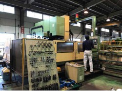 """Mori Seiki"" Cnc Machining Center Model: MV-80 Control  Fanuc  15M Work table size: 2,500x800 mm X axis travel: 2,000 mm Y axis travel: 800 mm Z axis travel: 750 mm"