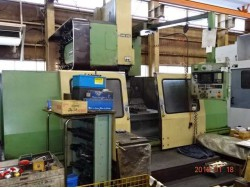 """Mori Seiki"" Cnc Machining Center Model: MV-65 Control  Fanuc  10M Work table size: 1,700x650 mm X axis travel: 1,270 mm Y axis travel: 650 mm Z axis travel: 650 mm"