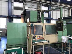 """Mori Seiki"" Cnc Machining Center Model: MV-65 Control  Fanuc  10M Work table size: 1,700x650 mm X axis travel: 1,270 mm Y axis travel: 650 mm Z axis travel: 650 mm Spindle :  Bt-50 Spindle speed: 50~4,000 rpm"