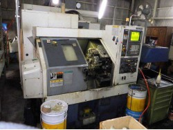 "Mori Seiki"" Cnc Lathe Model: CL-20A Year 1996 Control  MSC-518 (Fanuc 18T) With Tail Stock And Chip Conveyor"