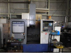 "Mori Seiki"" Cnc Machining Center Model: MV-40M Year 1993 Control  MF-M4(Fanuc  OMC) Work table size: 900x450 mm"