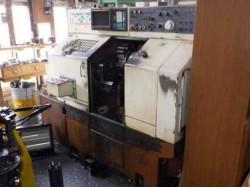 "Nakamura"" Cnc Lathe Model: TMC-20 Year 1986 Control  Fanuc  OT With Tail Stock"