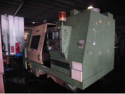 "Mori Seiki"" SL-35B Year 1989 Control Fanuc OT Stroke X 240  Z 855 Spindle Speed  2500 Rpm. Swing Over Bed 600 mm. No Tail Stock"