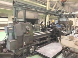 "Takisawa"" NH-1 Year 1981 Fanuc 3T Between Center 4,500 mm."