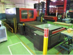 Laser Unit Maker Amada Type FO2412NT Year 2004 2000 Watt