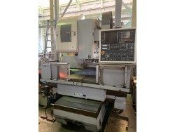 """Mitsui Seiki"" Cnc Machining Center Model  VR3A Year 1985 Control  Fanuc 6M Work table size  900x480 mm"
