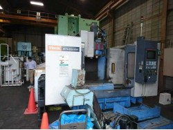 """Mazak"" Machining Center  Year  1997 Model  MTV-515/40N  Controller  Mazatrol M-Plus Work table size  1300x550 mm"