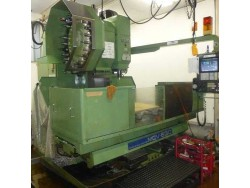 """Okk"" Cnc Machining Center Model  MCV630 Year 1987 Control  OKK Mitsubishi (meldas330M) Work table size  1,600x660 mm"