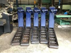ขาย Chip Conveyor รางลำเลียงขี้เหล็กเครื่อง CNC ของไต้หวัน ขนาดร่อง 250x1450มม. เหมา 5ตัว 40,000บาท