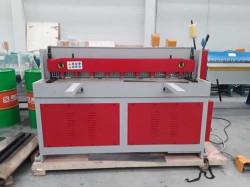 เครื่องตัดไฟฟ้าระบบมอเตอร์เกียร์ ตัดได้หนา 3-4 มม. กำลังมอเตอร์ 3-4 kW