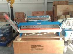เครื่องพับมือโยกใช้งานง่ายสิ้นค้าขายดี  พับได้หนา 1.5มมx1220มม