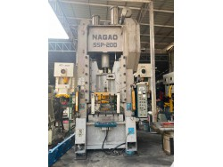 Used forging press. NAGAO SSP-200